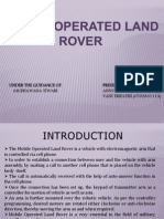 Mobile Operated Land Rover