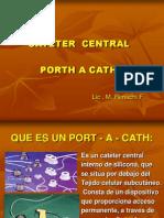 Que Es Un Port - A - Cath