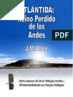Atlántida, Reino Perdido de los Andes