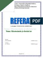 Referat Micotoxinele