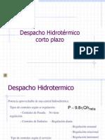 Despacho Hidrotermico Corto Plazo