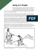 making of a knight pdf