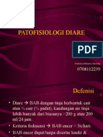 PATOFISIOLOGI DIARE