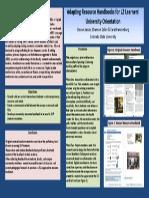 professionalism b tesol 2014 poster