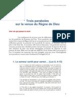 Conférences 2010 - paraboles