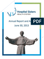 Hospital Sisters Health System Fiscal 2013