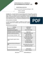 Acta Comité XXVIII Técnico 10-10-2012