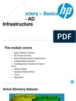 2 - AD Basics - Module2-AD-Infrastructure