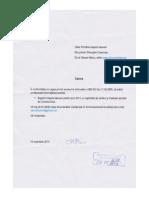 cerere acces la informatie Primaria Ialoveni