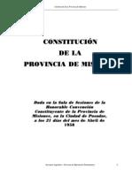 Constitucion Prov.de Misiones.