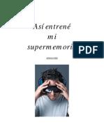 ENTRENAR La SuperMemoria