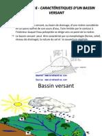 Ch6 Caracteristiques d Un Bassin Versant