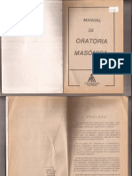 Manual de Oratoria Masonica