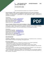 Ppg Museologia Usp Edital de Selecao 2012