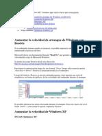Cómo optimizar Windows XP
