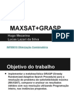 Maxsat Grasp