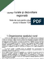1 Spaţii rurale şi dezvoltare regională