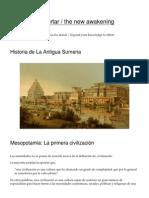 Historia de La Antigua Sumeria