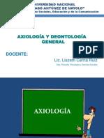 Axiologia y Deontología 1
