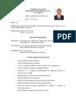 Curriculum Jose Rafael