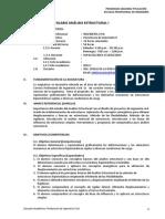 Silabo Analisis Estructural I_ Ucv_ist_cajam.