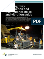 Construction Maintenance Noise Vibration Guide