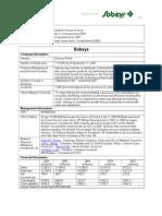 Sobeys company profile