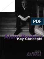 Bartlett, Clemens Eds- Badiou Key Concepts