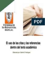 Citas y Referencias Con APA