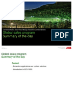Prot Appl Program - Summary of the Day - Rev00