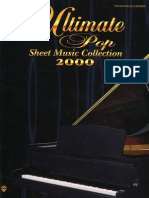 00 the Ultimate Pop Sheet Music Collection Covers