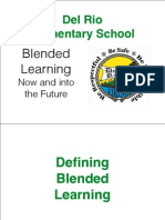 Blended Learning Now and Into the Future