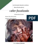 Taller Focalizado Pobreza