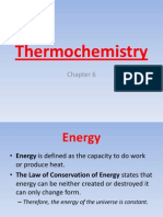 Thermochemistry - Chapter 6