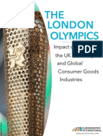 London Olympics Impact on UK Economy and Global Brands