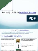 UCPS Alternative to Redistricting