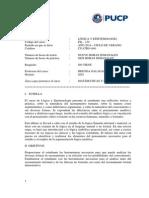 FIL130 LOGICA Y EPISTEMOLOGIA