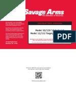 Manual 110LESeries 112VarmintTarget