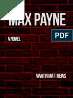 Max Payne A Novel