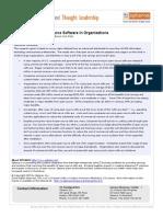 Wp Optaros Oss Usage in Organizations