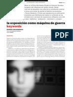 Didi-Huberman - La Exposicion Como Maquina de Guerra