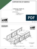 Planos Puentes Montaje Lanzamiento 24 m x 4.2 m