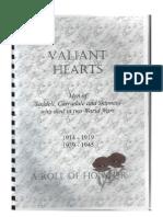 Valiant Hearts - Carradale - Gloria Siggins - 2006