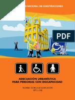 Adecuacion Urbanistica Para Personas Con Discapacidad Nte u.190 - A.060