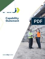 ADG Capability Statement