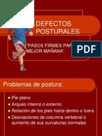 DEFECTOS POSTURALES_presentacion