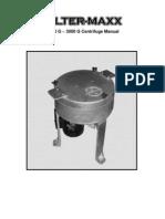 Centrifuge Manual