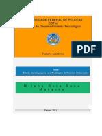 Estudo Das Linguagens Para Modelagem de Sistemas Embarcados