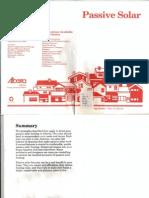 Passive Solar Handbook - Government of Alberta 1990