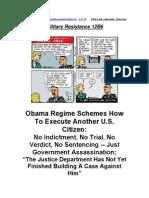 Military Resistance 12B6 Naked Treason